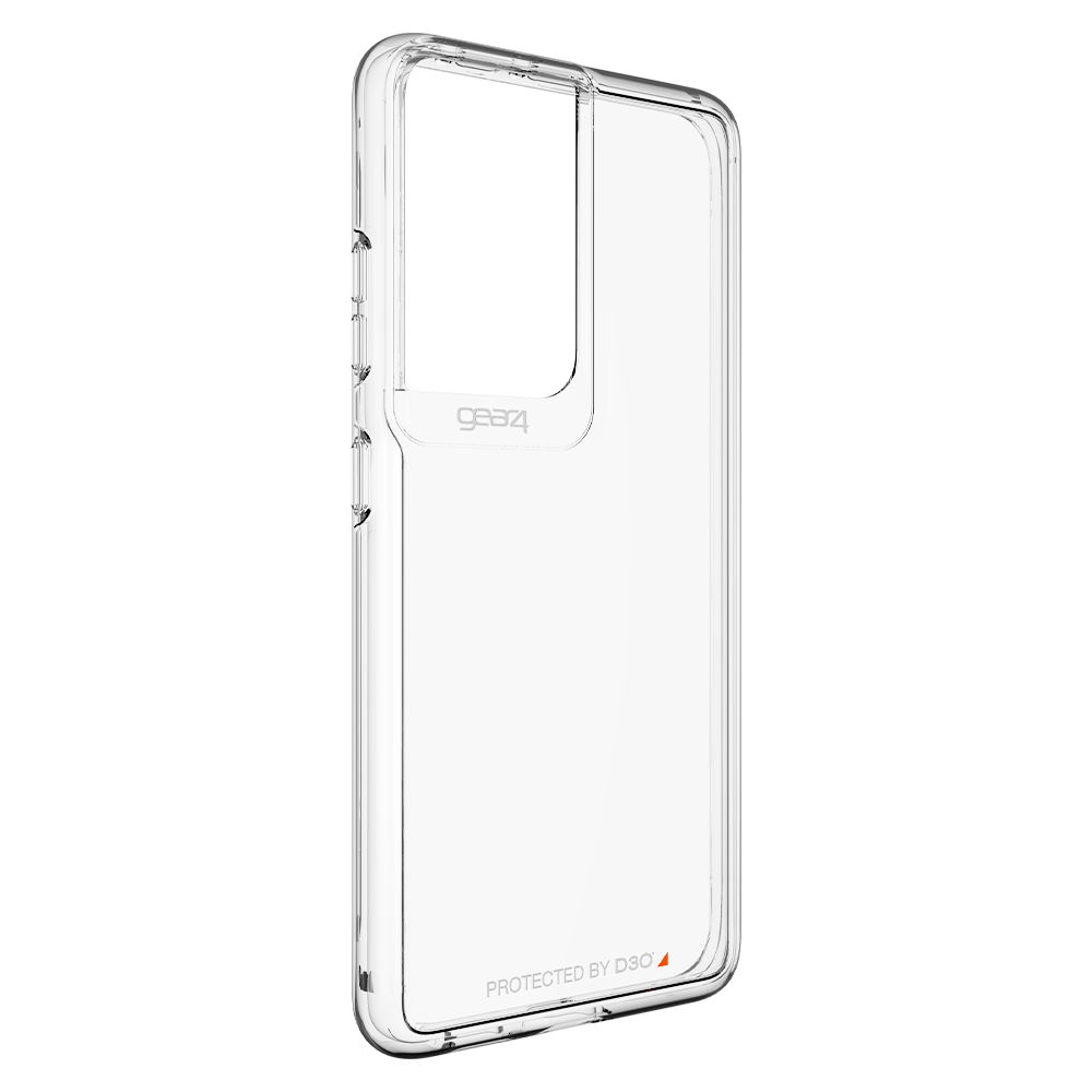 Gear4 Crystal Palace Case for Samsung Galaxy S21 Ultra 5G - Clear