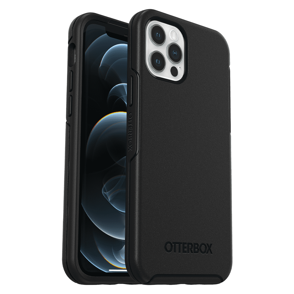 Otterbox Symmetry Series Case for Apple iPhone 12/12 Pro - Black