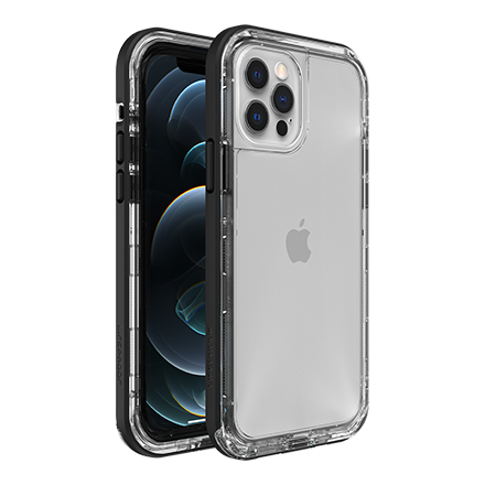 LifeProof NEXT Case for Apple iPhone 12/12 Pro - Black Crystal