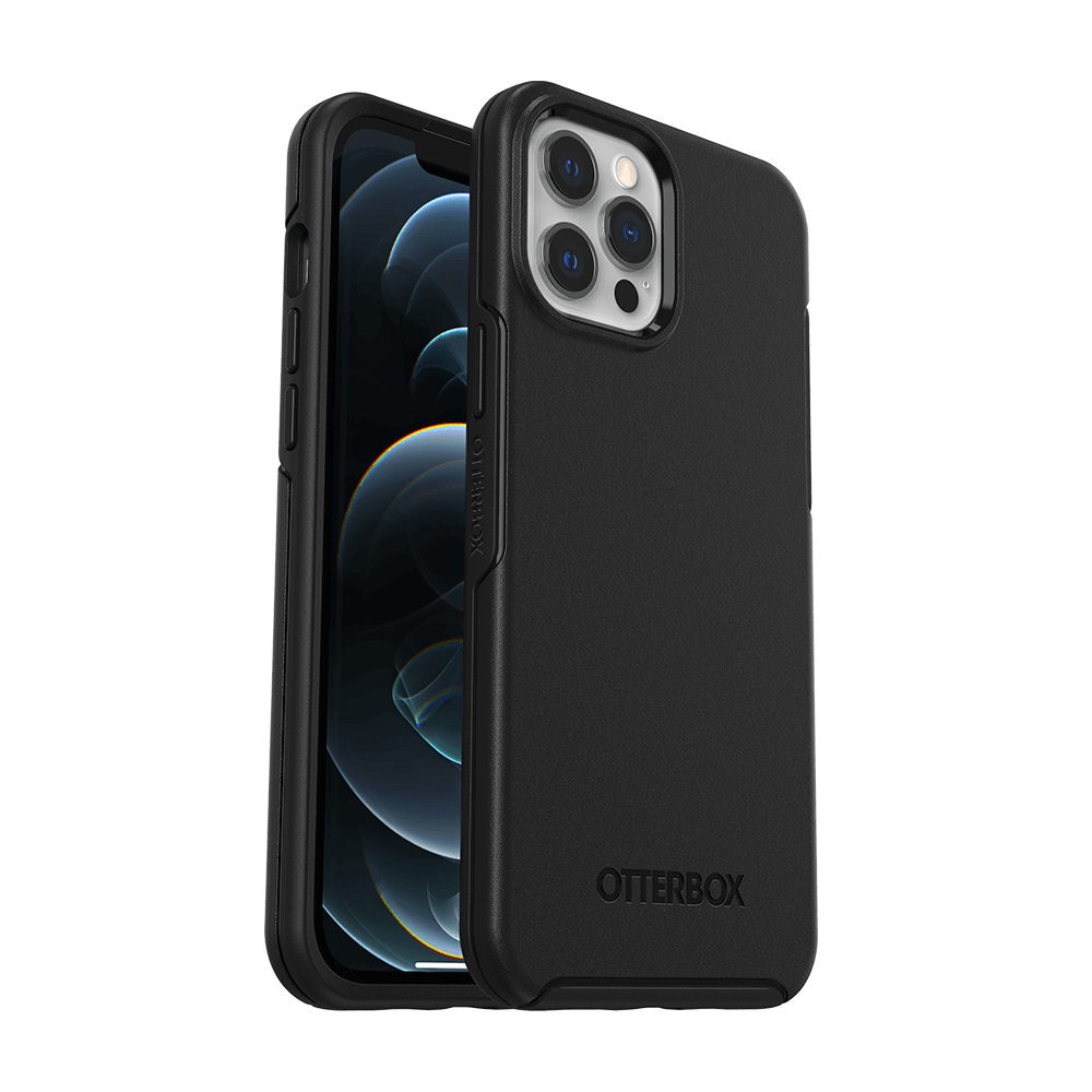Otterbox Symmetry Series Case for Apple iPhone 12 Pro Max - Black