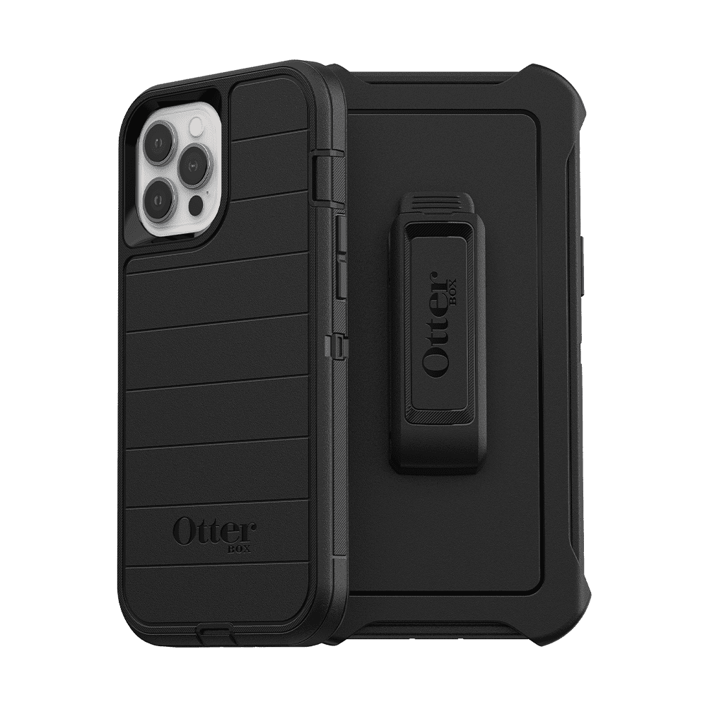 Otterbox Defender Series Pro Case for iPhone 12 Pro Max - Black