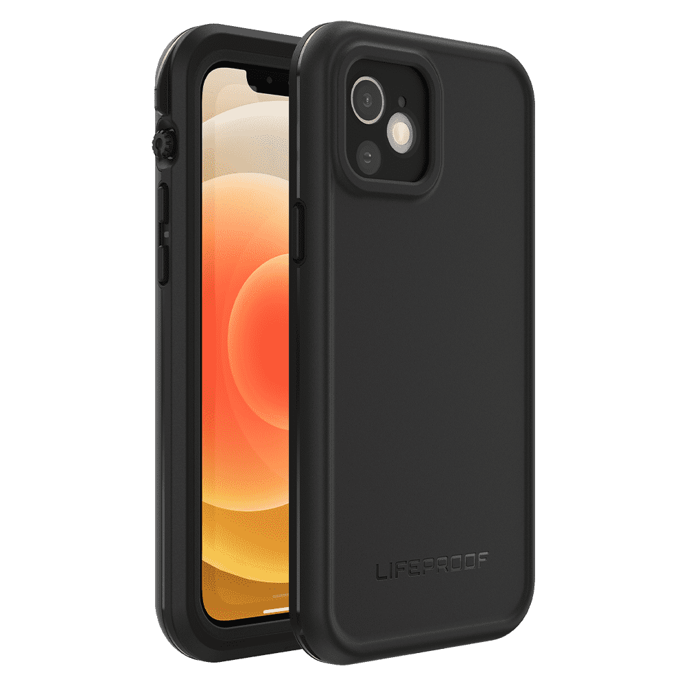 LifeProof FRE Case for Apple iPhone 12 - Black