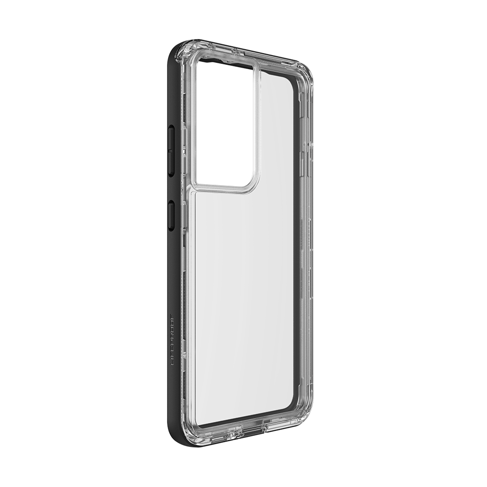 LifeProof NEXT Case for Samsung Galaxy S21 Ultra 5G - Black/Crystal