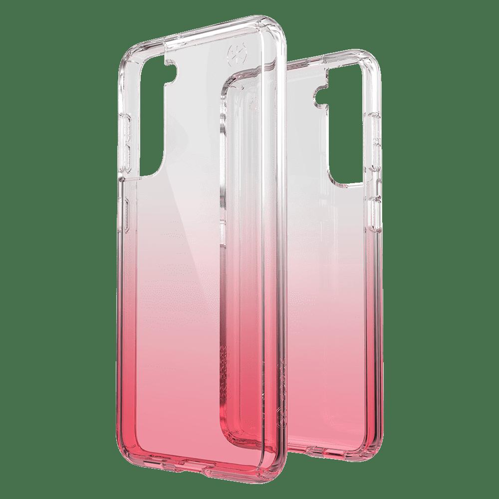 Speck Presidio Clear Ombre Case for Samsung Galaxy S21 5G - Ombre Rose