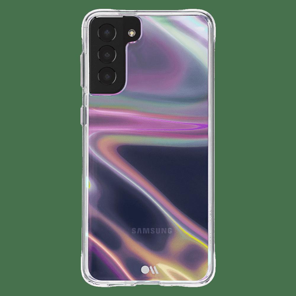 Case-Mate Soap Bubble Case for Samsung Galaxy S21 Plus 5G - Iridescent
