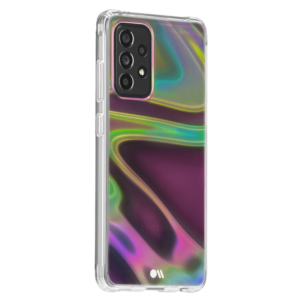 Case-Mate Soap Bubble Case for Samsung Galaxy A52 5G - Iridescent
