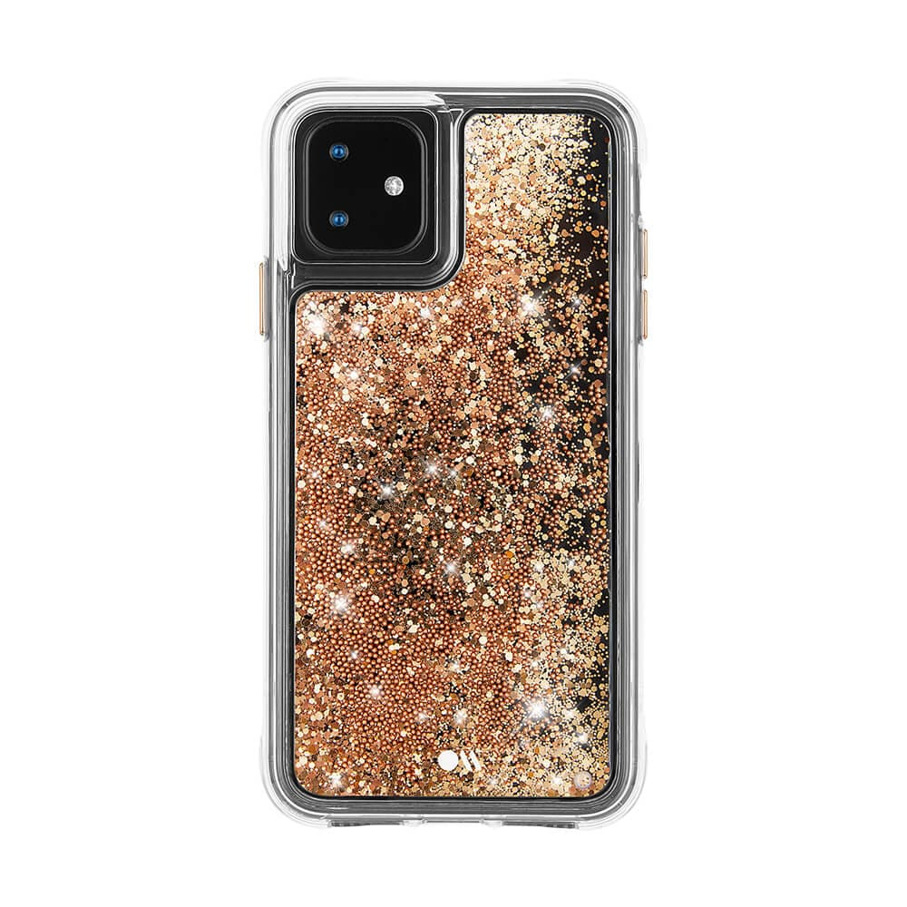 Case-Mate Waterfall Case for Apple iPhone 11 - Gold
