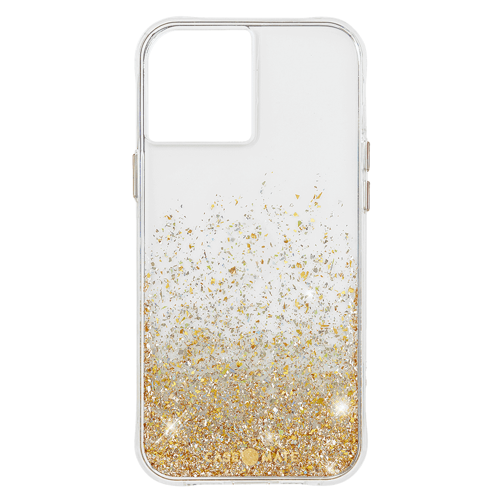 Case-Mate Twinkle Ombre Case for Apple iPhone 12/12 Pro - Twinkle Ombre Gold