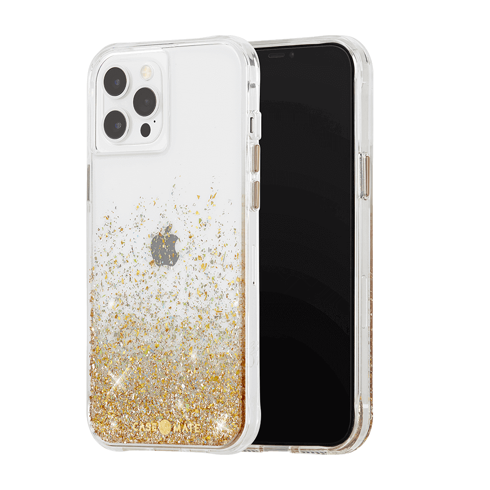 Case-Mate Twinkle Ombre Case for Apple iPhone 12 Pro Max - Twinkle Ombre Gold