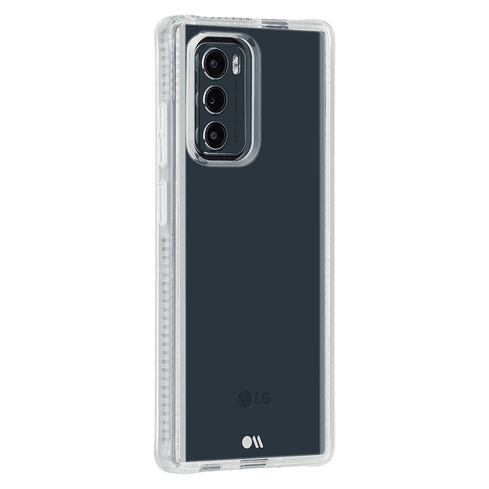 Case-Mate Tough Plus Case for LG Wing 5G - Clear