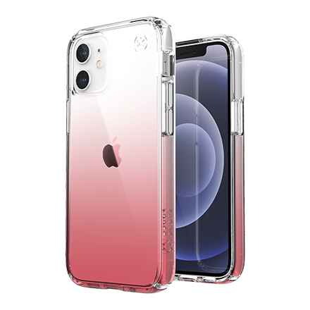 Speck Presidio Clear Ombre Rose Case for Apple iPhone 12 mini - Ombre Rose