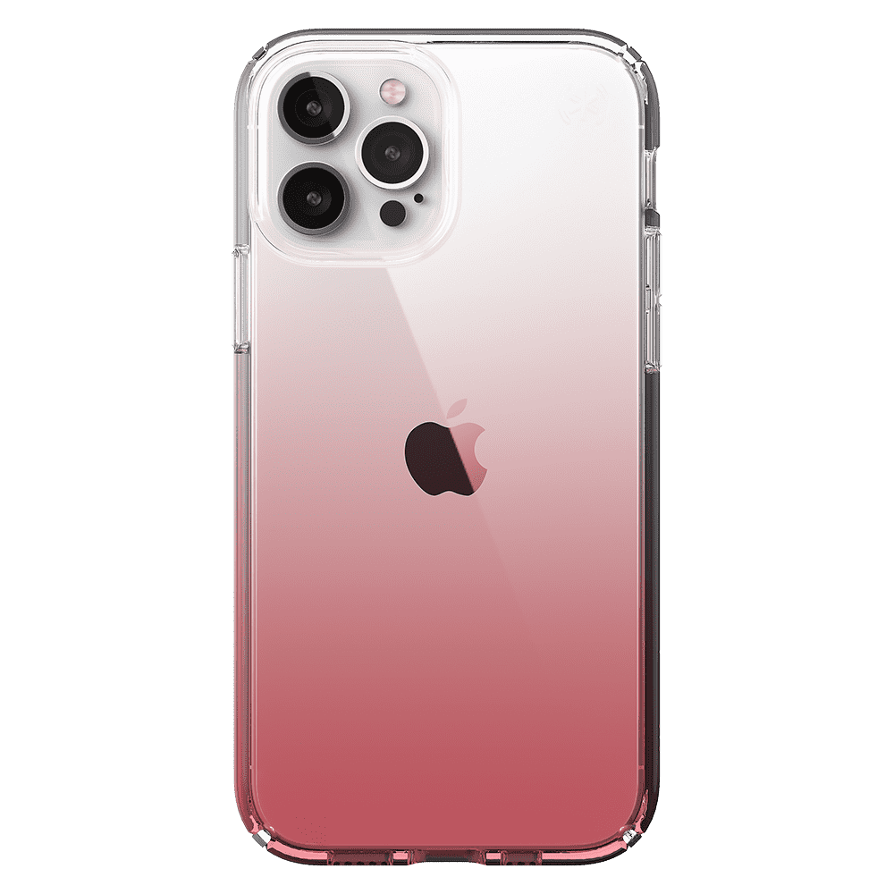 Speck Presido Clear Ombre Rose for Apple iPhone 12/12 Pro - Rose