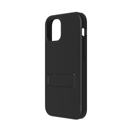 Quikcell Advocate Dual Layer Kick Case for Apple iPhone 12 Pro Max - Black