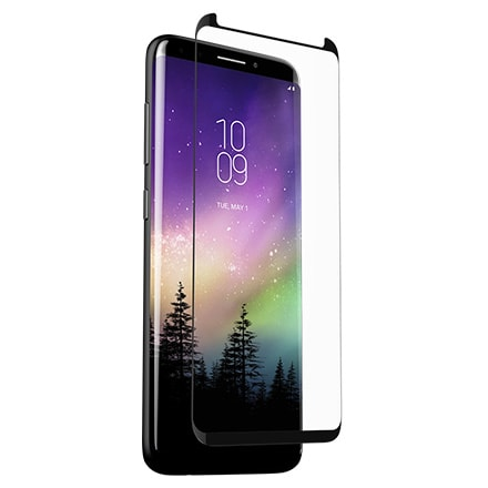 ZAGG Glass Curve Screen Protector for Samsung Galaxy S9 Plus