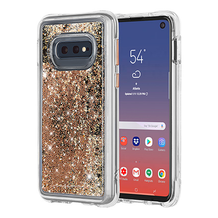 Case-Mate Waterfall Case for Samsung Galaxy S10e - Gold