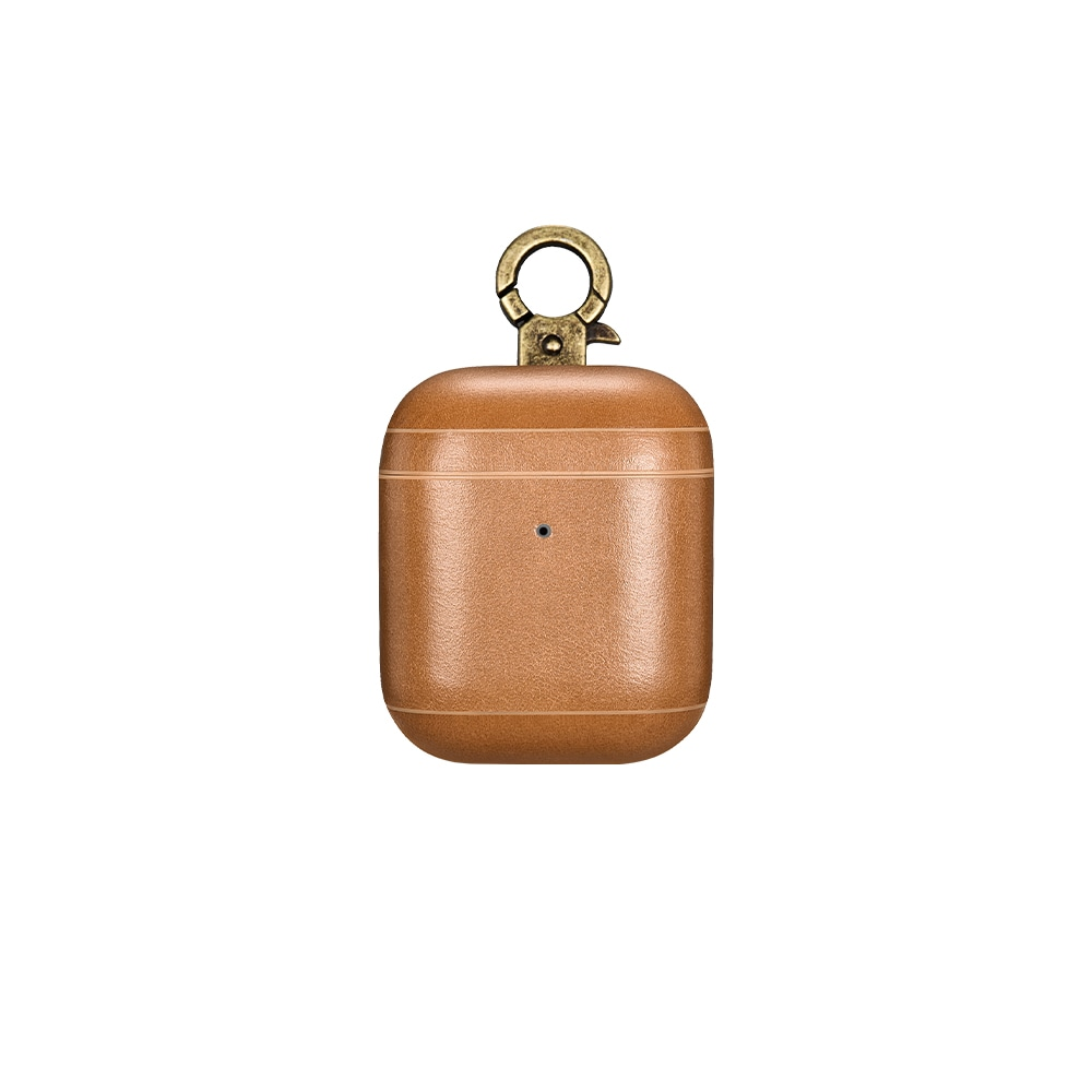 intelliARMOR AirPods Leather Case - Camel