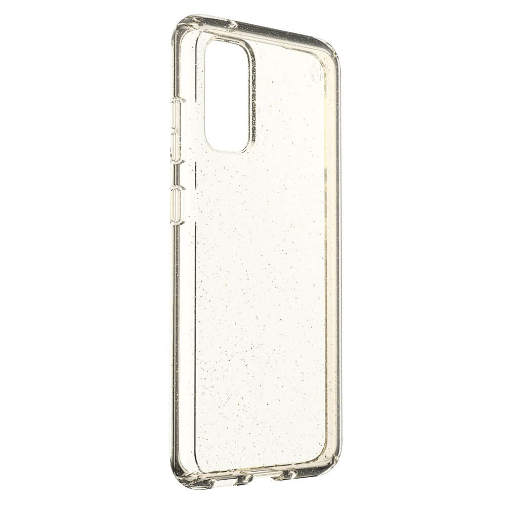 Speck Presidio Stay Clear for Samsung Galaxy S20+ - Gold Glitter
