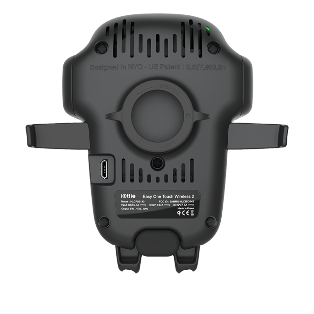 iOttie Wireless Dash and Windshield Mount - Black
