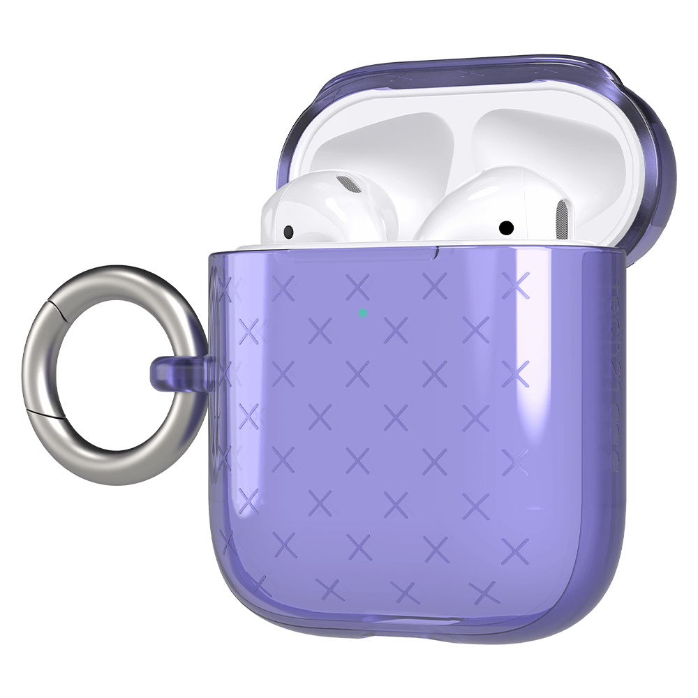 Tech21 AirPods Case - Evo Check Indigo