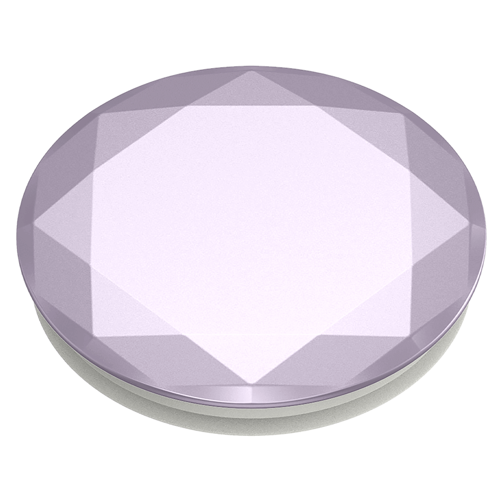 PopSockets PopGrip - Metallic Diamond Lavender