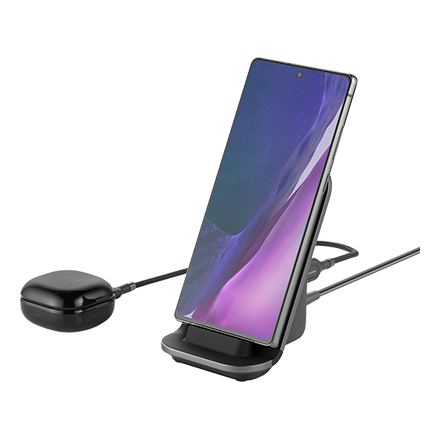 Ubio Labs Aspect 15W Wireless Charging Stand - Black