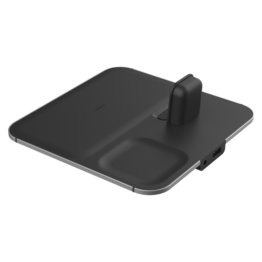 Ubio Labs Aspect 4-in-1 Wireless Charging Station - Black
