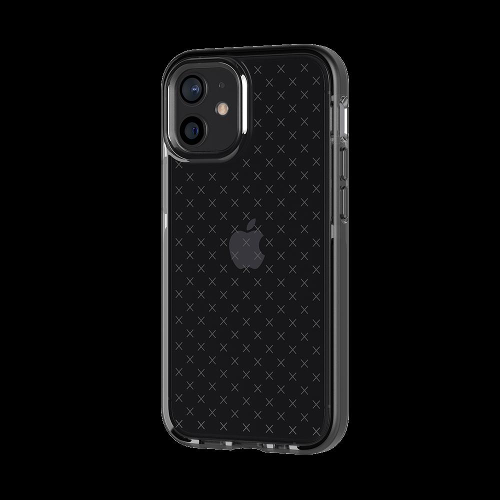 Tech21 Evo Check Case for Apple iPhone 12 mini - Smokey/Black