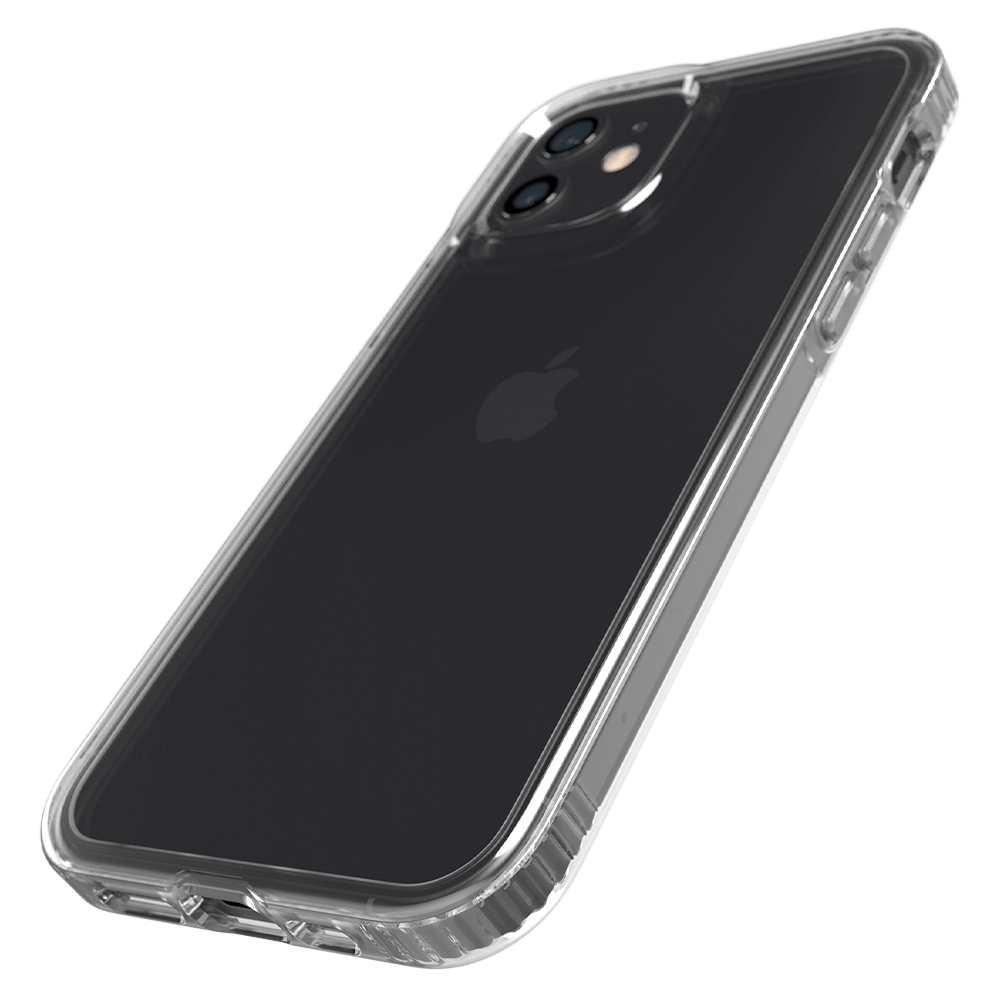 Tech21 Evo Clear Case for Apple iPhone 12/12 Pro - Clear