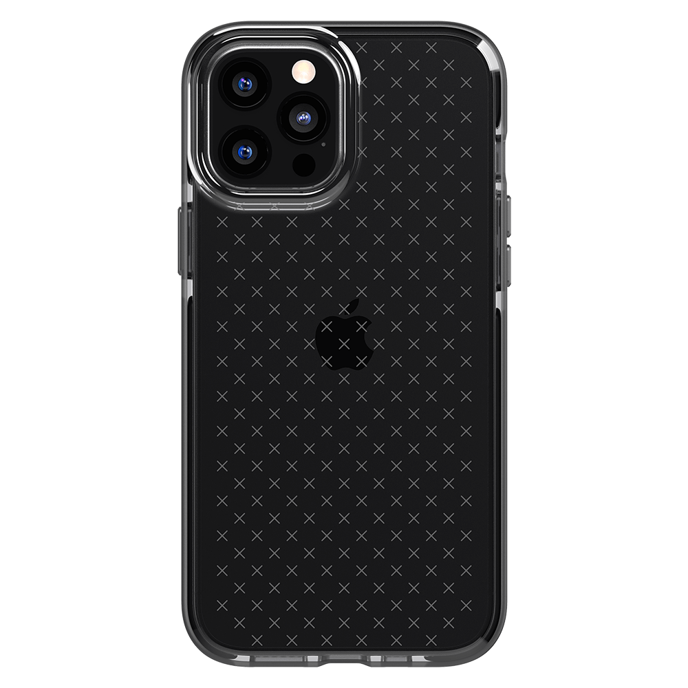 Tech21 Evo Check Case for Apple iPhone 12 Pro Max - Smokey/Black