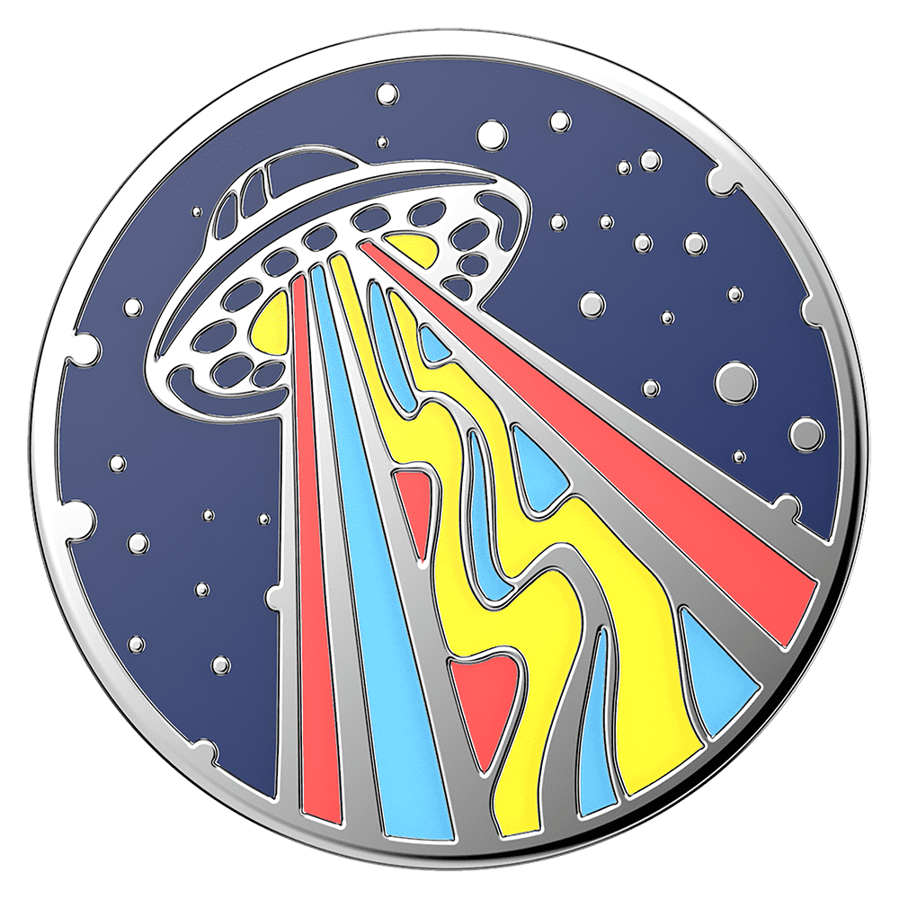 PopSockets PopGrip - Enamel Outta This World