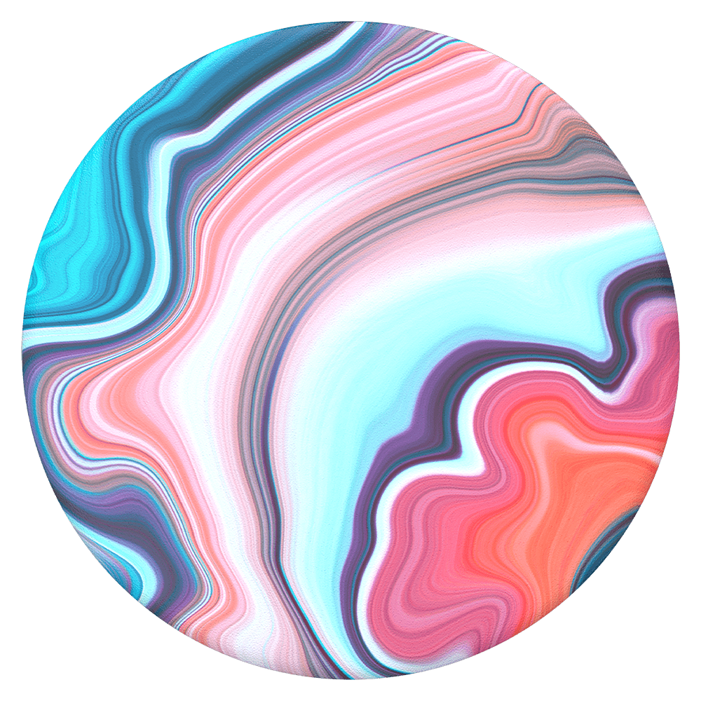 PopSockets PopGrip - Banded Agate