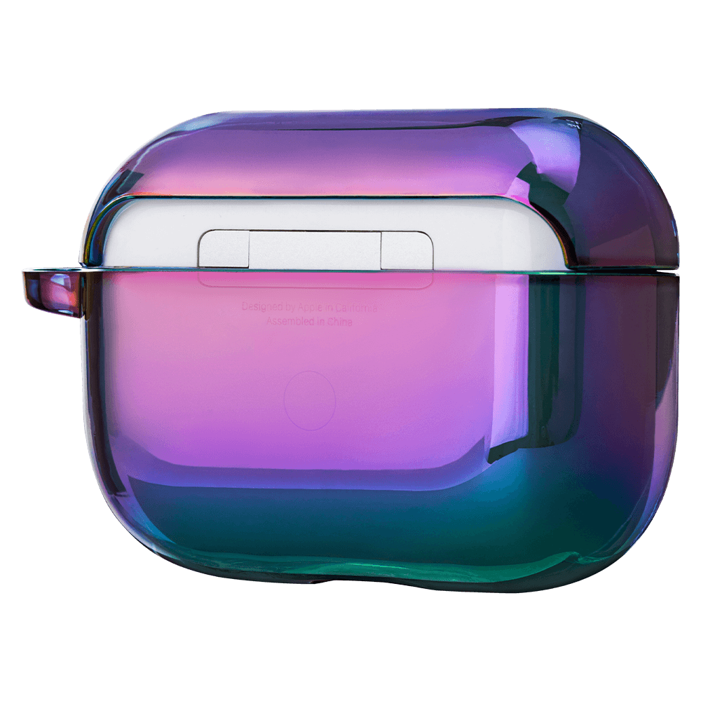 LAUT HOLO Midnight AirPods Pro Case - Dark Rainbow Haze