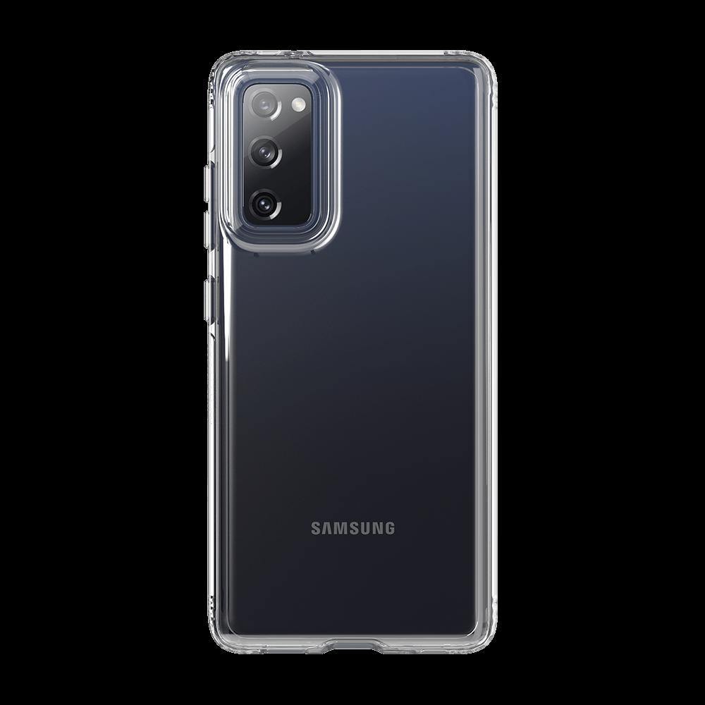 Tech21 Evo Clear Case for Samsung Galaxy S20 FE 5G - Clear