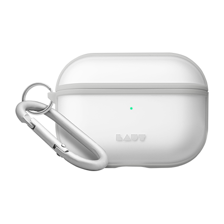 LAUT HUEX Dual Layer Protective Case for AirPods Pro - Clear Frost