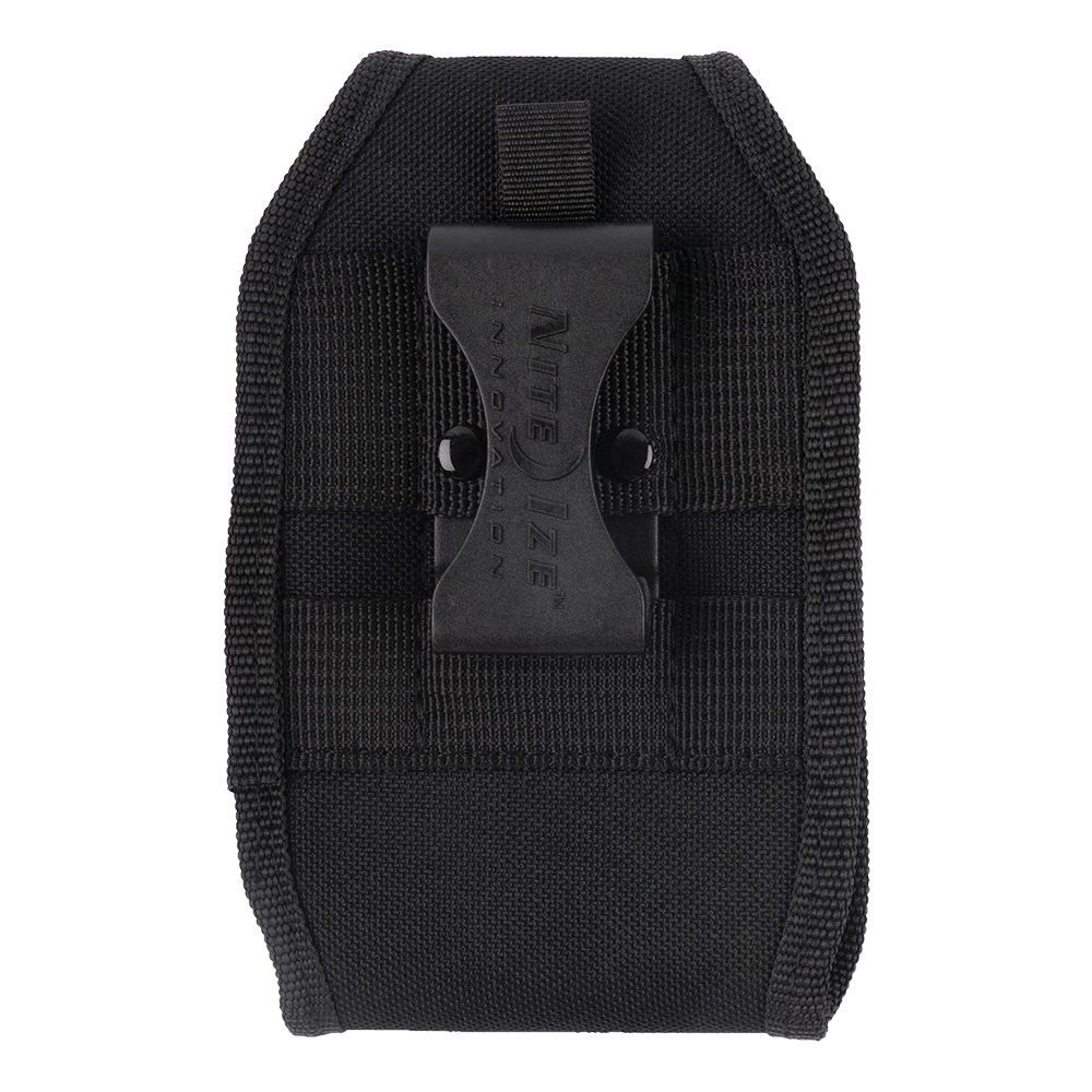 Nite Ize Clip Case Hardshell Horizontal Universal Rugged Holster, XL - Black