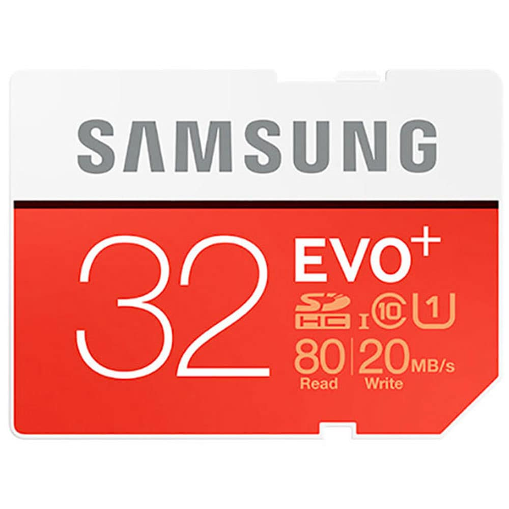 Samsung EVO Plus 32GB MicroSD Memory Card w/Adapter