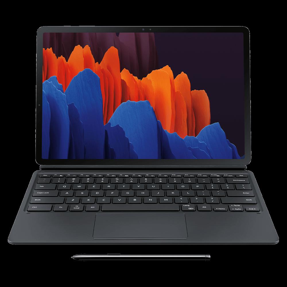 Samsung Keyboard Cover for Samsung Galaxy Tab S7+ 5G - Black