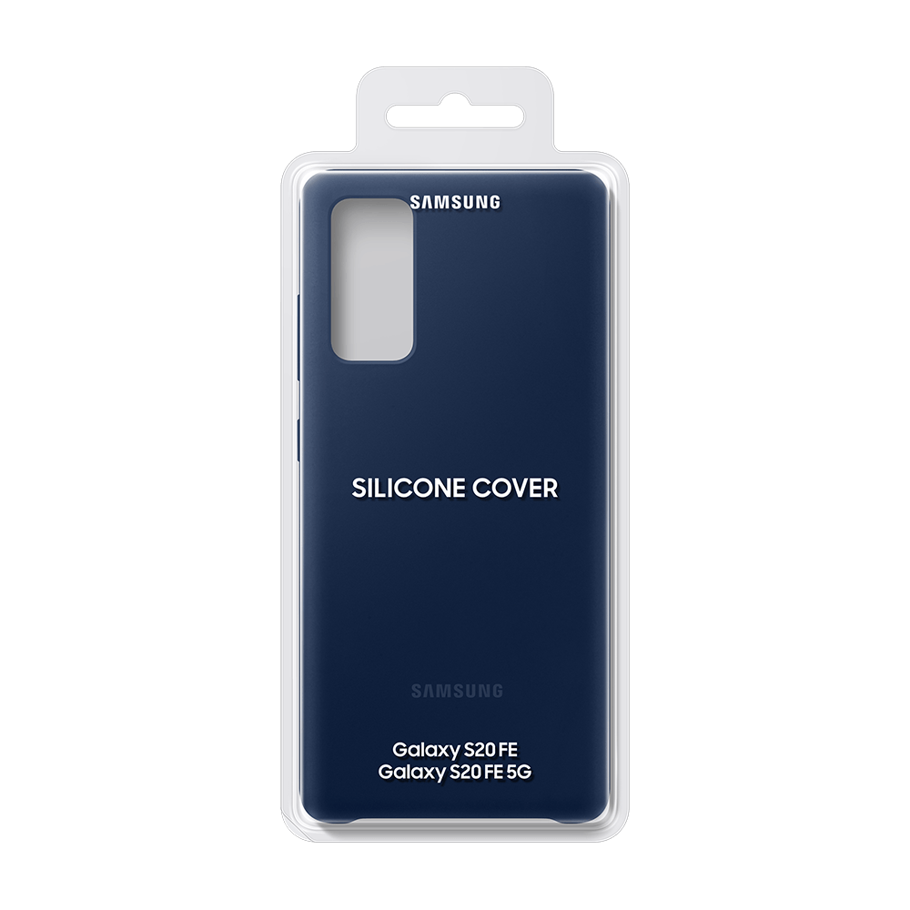 Samsung Silicone Case for Samsung Galaxy S20 FE 5G - Navy