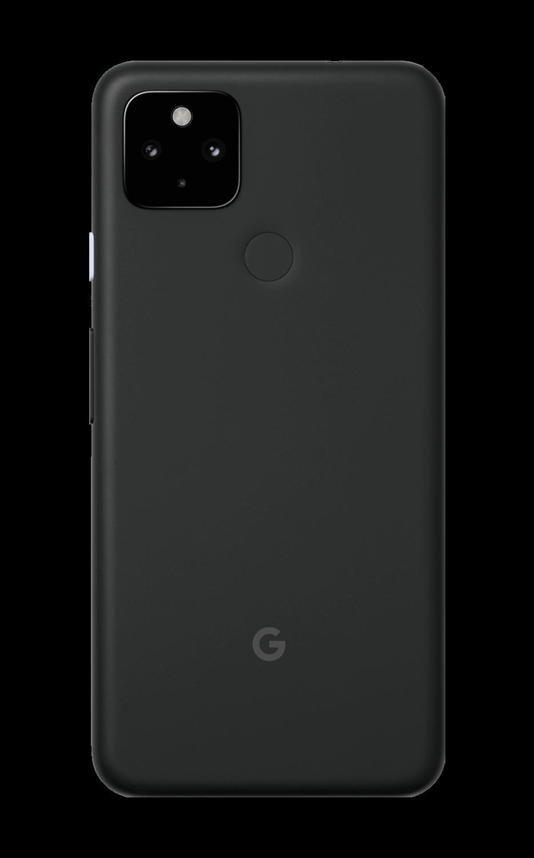 Rear View Pixel 4a (5G) Just Black