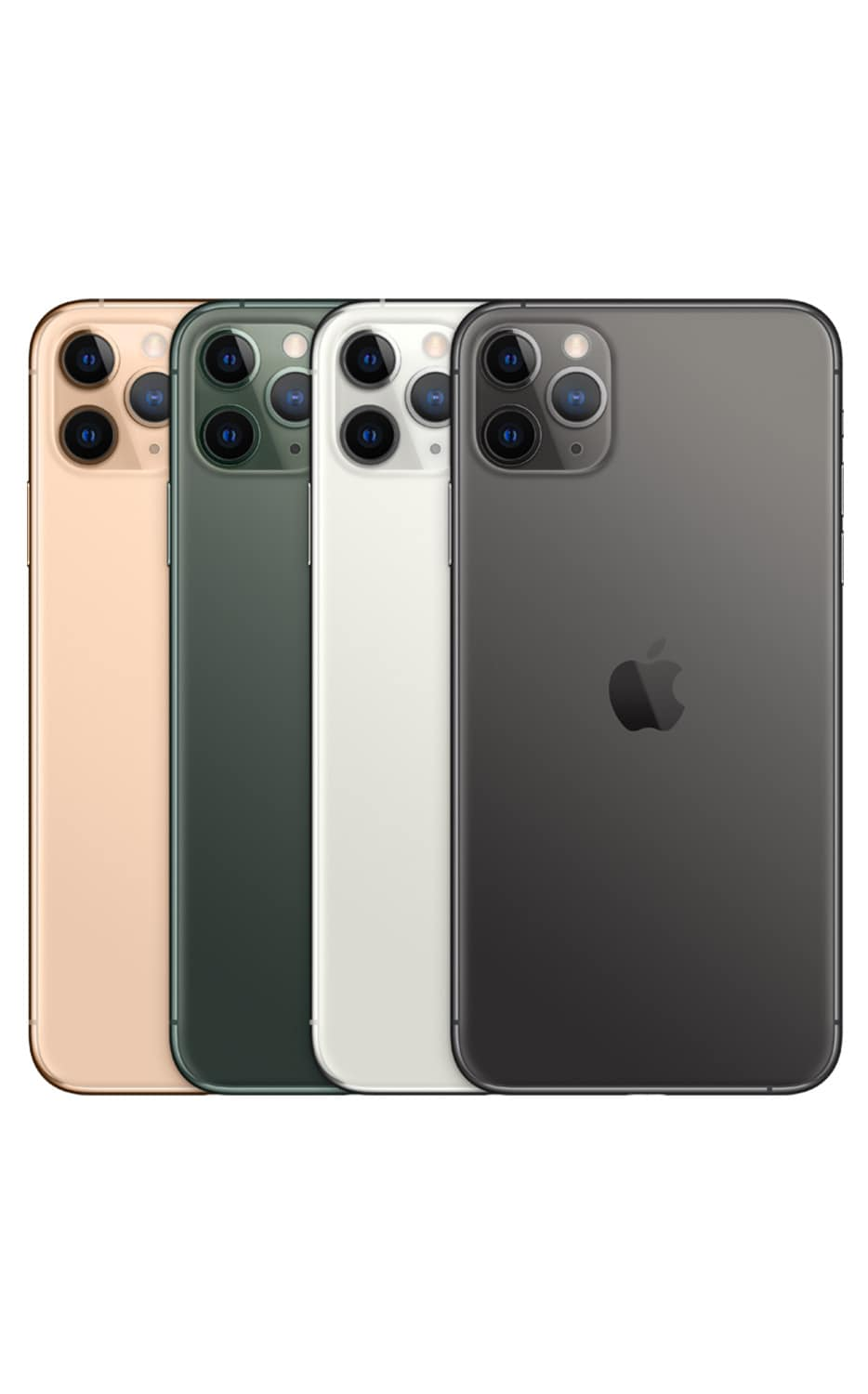 Right View iPhone 11 Pro Max Silver