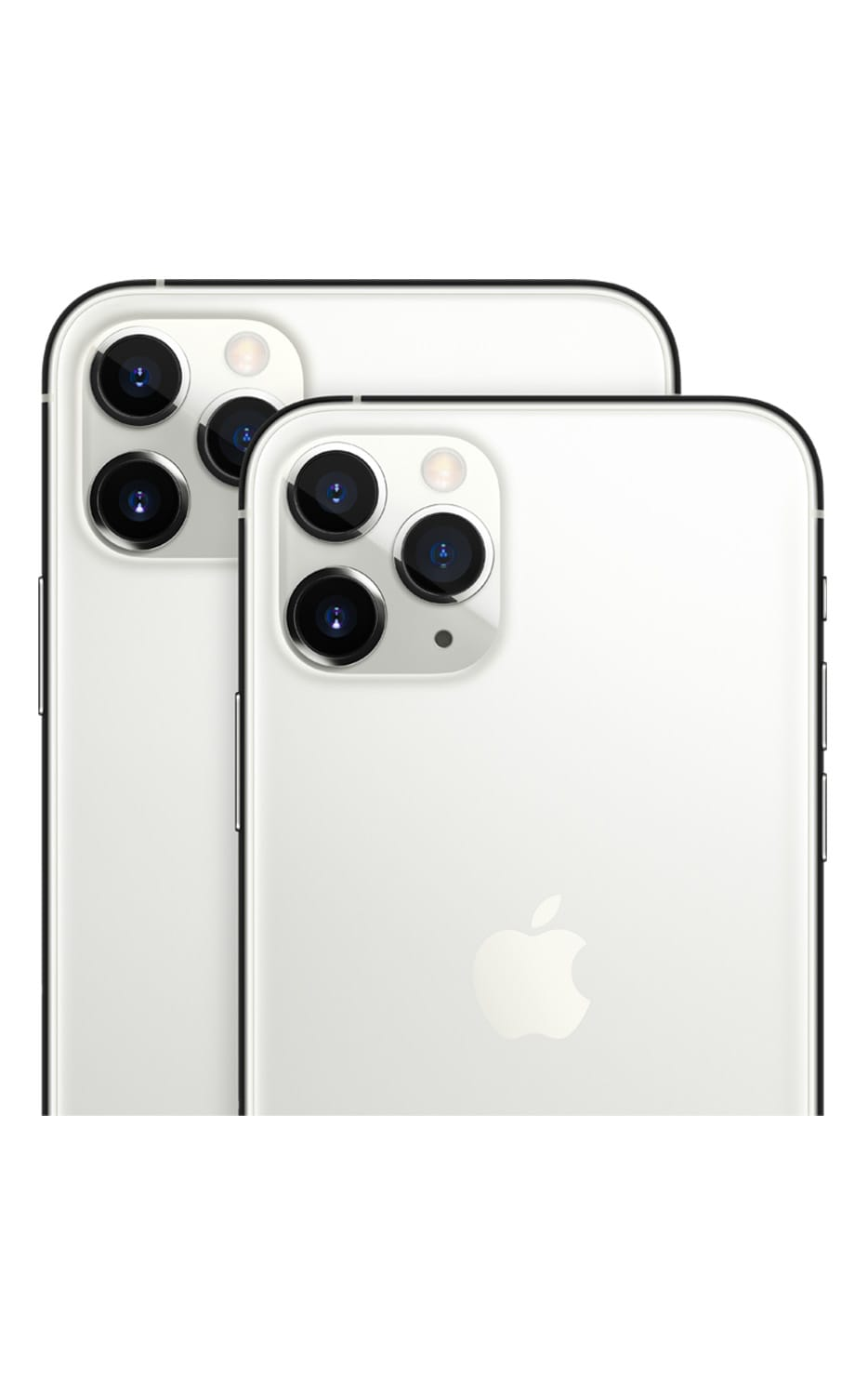 Left View iPhone 11 Pro Silver