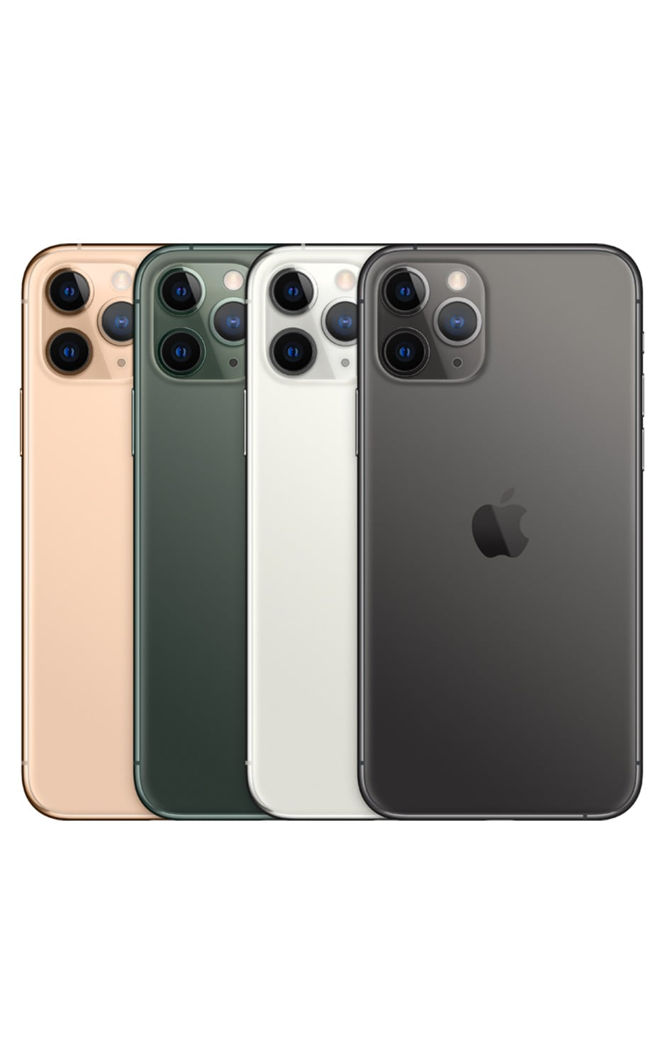 Right View iPhone 11 Pro Silver