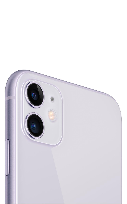 Left View iPhone 11 Purple