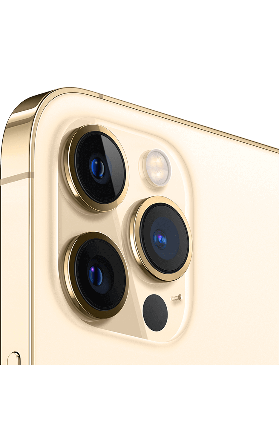 Left View iPhone 12 Pro Max Gold
