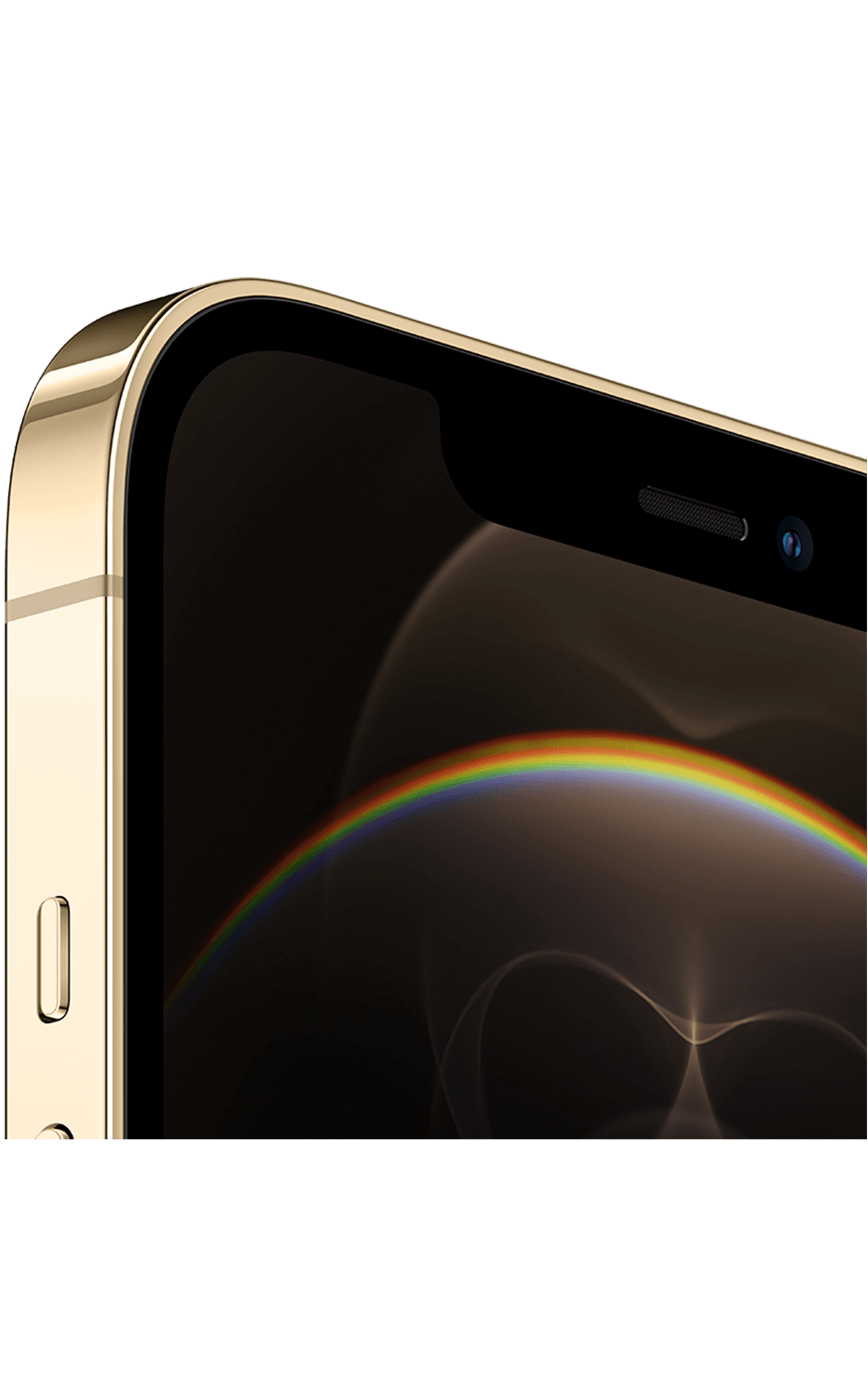 Right View iPhone 12 Pro Max Gold