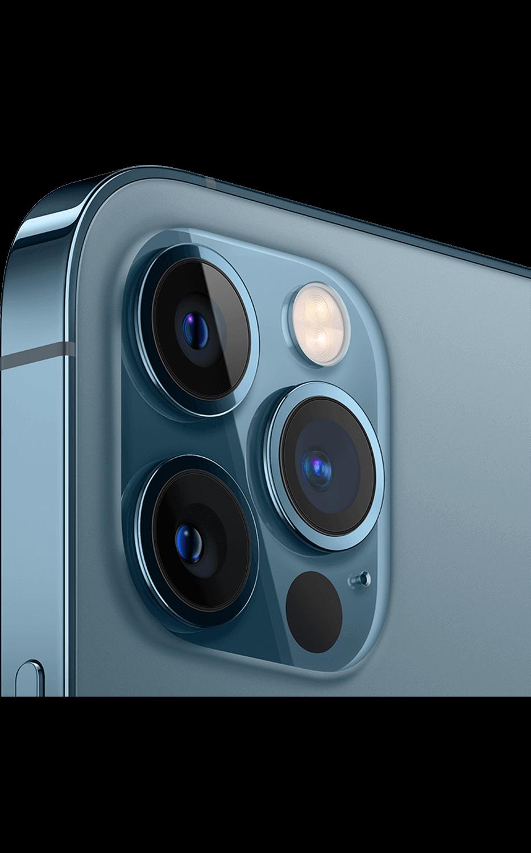 Vista izquierda del iPhone 12 Pro - Azul pacífico