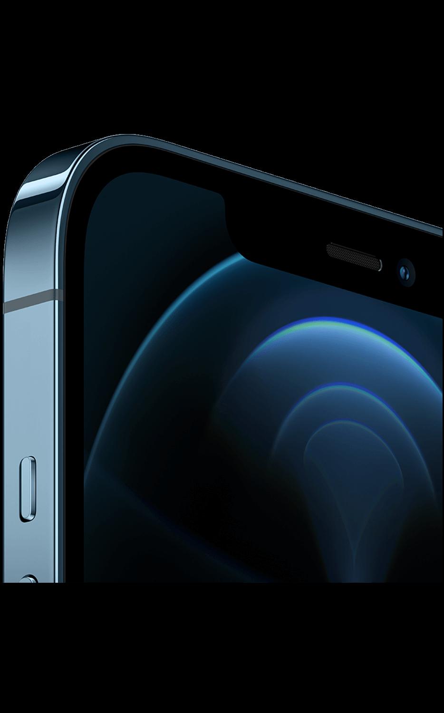 Vista derecha del iPhone 12 Pro - Azul pacífico