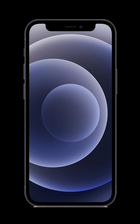 Rear View iPhone 12 mini Black