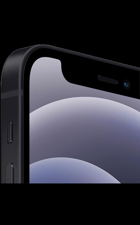 Right View iPhone 12 mini Black