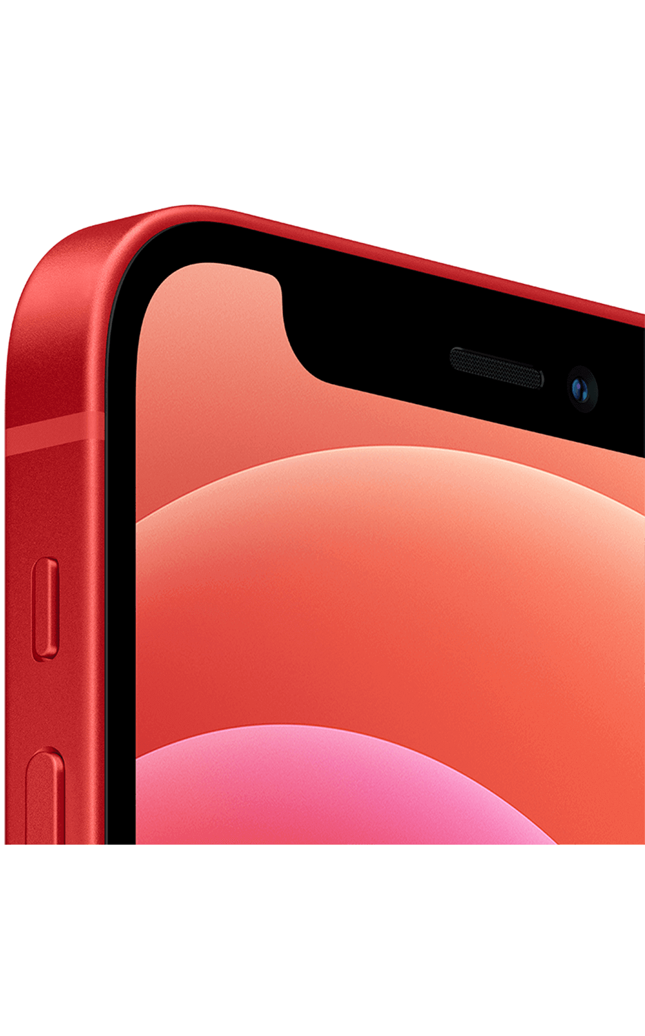 Right View iPhone 12 mini (PRODUCT)RED